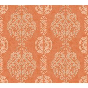 Damask Stripe Wallpaper WB5433