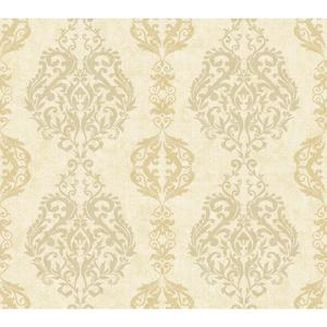 Damask Stripe Wallpaper WB5434