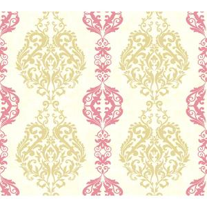 Damask Stripe Wallpaper WB5435