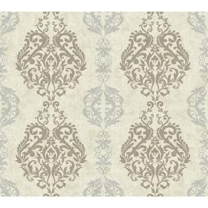 Damask Stripe Wallpaper WB5436