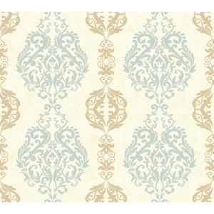 Damask Stripe Wallpaper WB5437