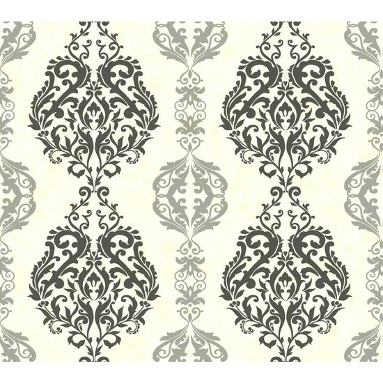Damask Stripe Wallpaper WB5438