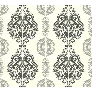 Damask Stripe Wallpaper WB5438