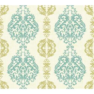 Damask Stripe Wallpaper WB5439