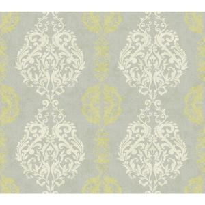 Damask Stripe Wallpaper WB5441