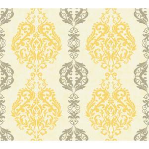 Damask Stripe Wallpaper WB5442