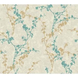 Delicate Floral Branch Wallpaper WB5443