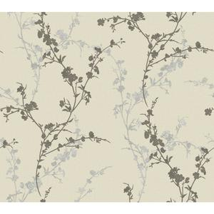 Delicate Floral Branch Wallpaper WB5444