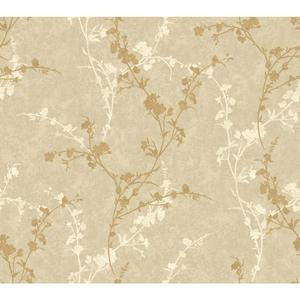 Delicate Floral Branch Wallpaper WB5446