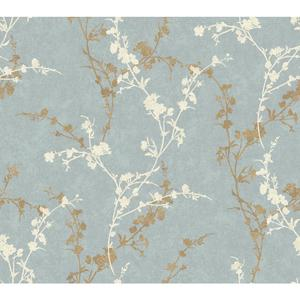 Delicate Floral Branch Wallpaper WB5447
