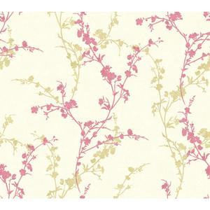 Delicate Floral Branch Wallpaper WB5448