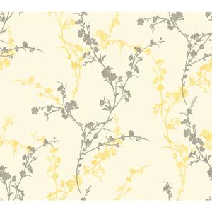 Delicate Floral Branch Wallpaper WB5449