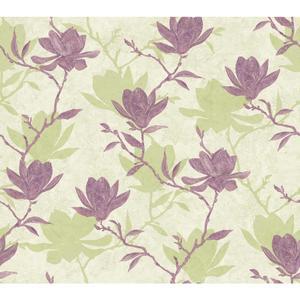 Magnolia Silhouette Wallpaper WB5450