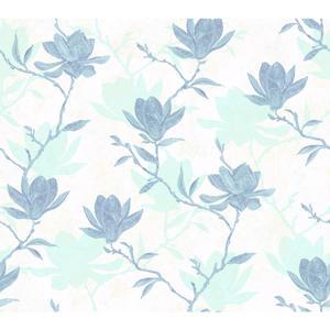 Magnolia Silhouette Wallpaper WB5451