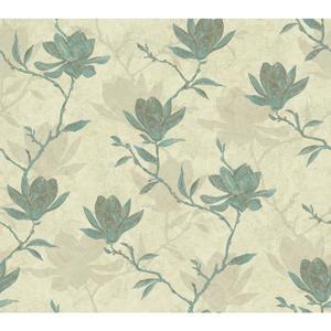Magnolia Silhouette Wallpaper WB5452