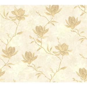 Magnolia Silhouette Wallpaper WB5453