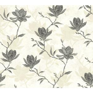 Magnolia Silhouette Wallpaper WB5454