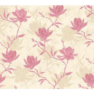 Magnolia Silhouette Wallpaper WB5455