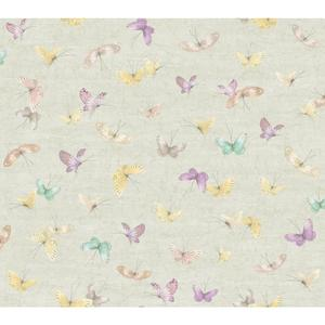 Textural Butterflies Wallpaper WB5478