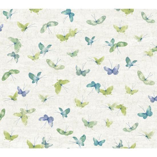 Textural Butterflies Wallpaper WB5480