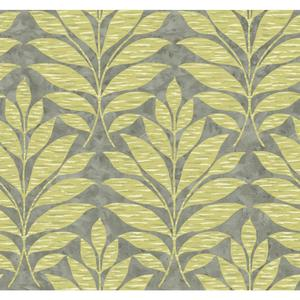 Textural Leaf Wallpaper WB5489