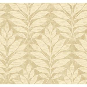 Textural Leaf Wallpaper WB5491