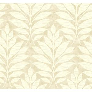 Textural Leaf Wallpaper WB5492