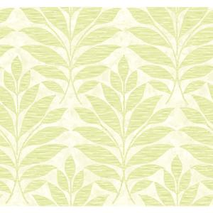 Textural Leaf Wallpaper WB5493
