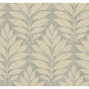 Textural Leaf Wallpaper WB5494