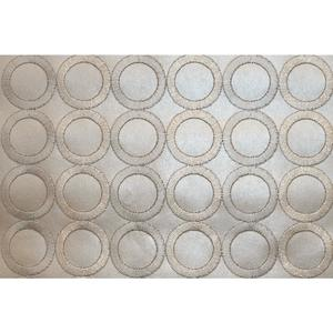 Candice Olson Embroidered Circles Wallpaper SN1380