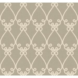 Galt Embroidery Wallpaper WM2535