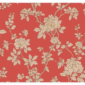 Chinese Peony Wallpaper WL8619