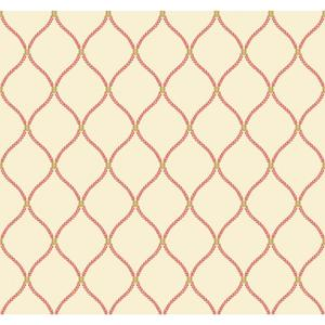 Deane Embroidery Wallpaper WL8667