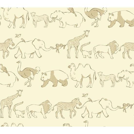 Congo Line Wallpaper WK6726