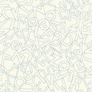 Alphabet Soup Wallpaper WK6962