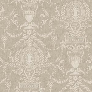 Neoclassical Urn Wallpaper AM8602