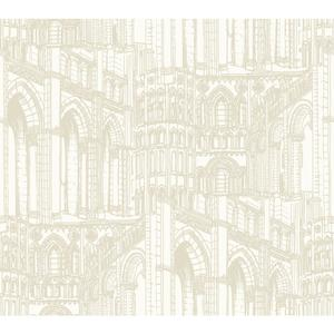 Architectural Drawing Wallpaper AM8636