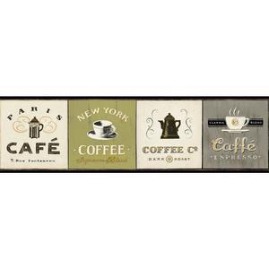 Coffee Signs Border AM8641B