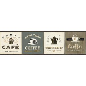 Coffee Signs Border AM8642B