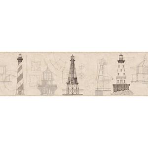 Architectural Lighthouse Border AM8648BD