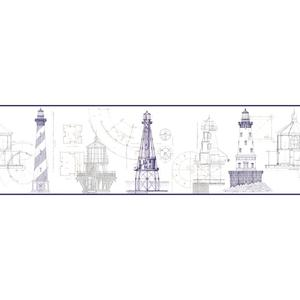 Architectural Lighthouse Border AM8649BD