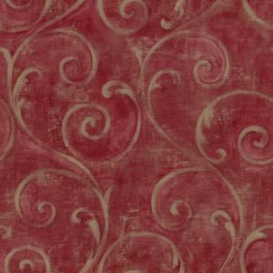 Textured Scroll Wallpaper AM8685