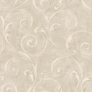 Textured Scroll Wallpaper AM8686