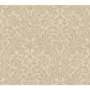 Herringbone Damask Wallpaper AM8708