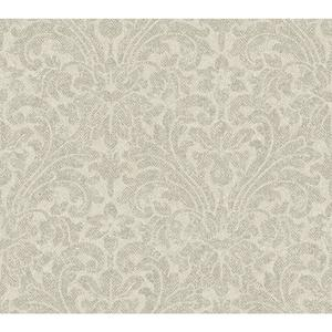 Herringbone Damask Wallpaper AM8709