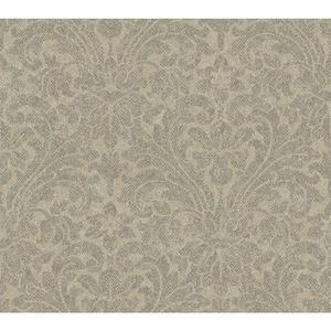 Herringbone Damask Wallpaper AM8710