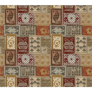 Eclectic Patchwork Wallpaper AM8724