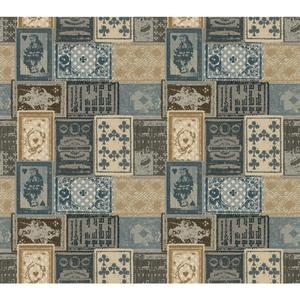 Eclectic Patchwork Wallpaper AM8726