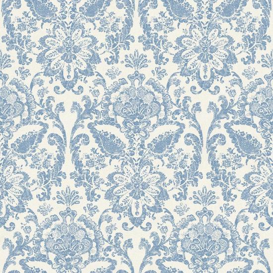 Floral Damask Wallpaper AM8748