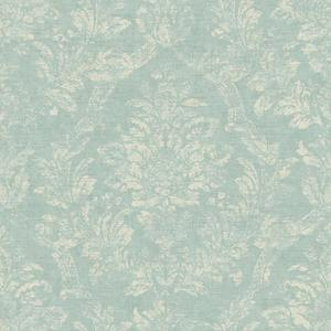 Distressed Damask Wallpaper AM8765